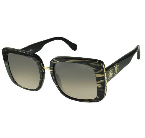 Óculos de Sol Roberto Cavalli Preto RC1127 - 05B/54