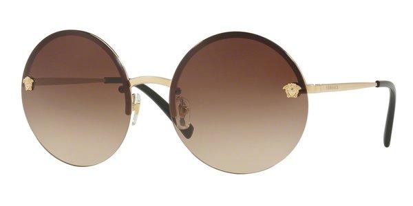 Óculos De Sol Versace MOD2176 Pale Gold