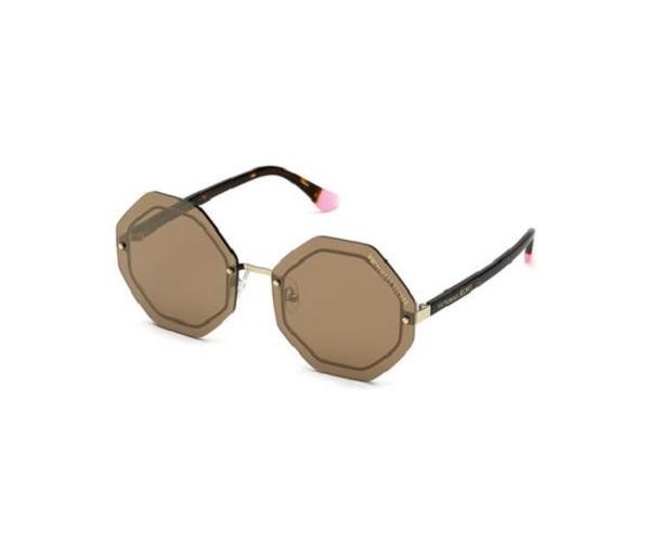 Óculos de Sol Victoria's Secret Marrom VS0024 - 28G/61