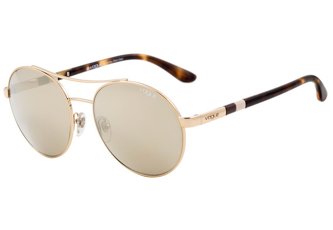 Óculos de Sol Vogue Ocean Knot Dourado VO4040SL - 50425A/57