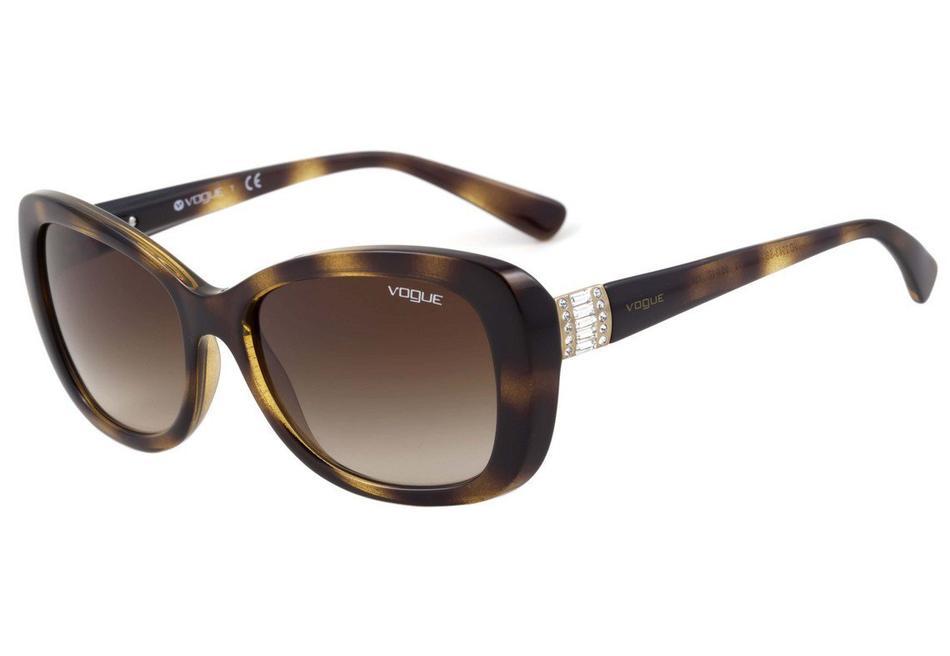 Óculos de Sol Vogue Twist Tartaruga/Marrom VO2943SB - W65613/55