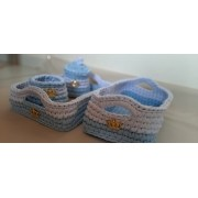 Kit higiene em Fio de Malha