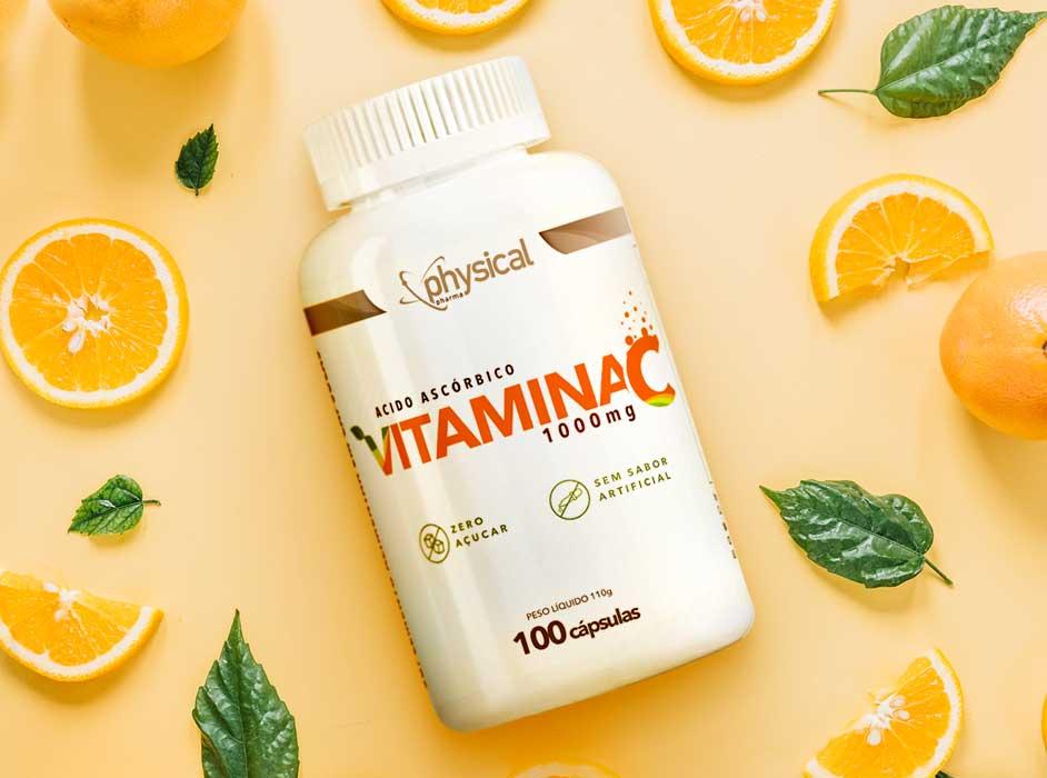 Vitamina C 1000mg - Ácido Ascórbico