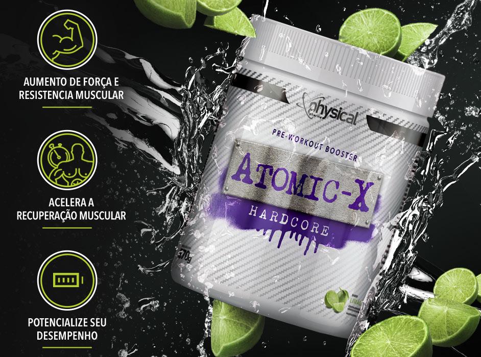 Atomic-X Hardcore - Pre-Workout Booster