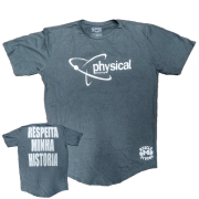 Camiseta - Respeita minha história (Respect my history)