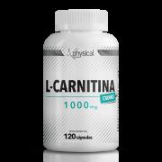 L-Carnitina c/ cromo 1000mg (120 Cápsulas) - Physical Pharma