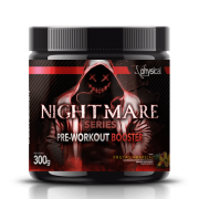 Nightmare Series Pre-Workout Booster (300g) - Physical Pharma