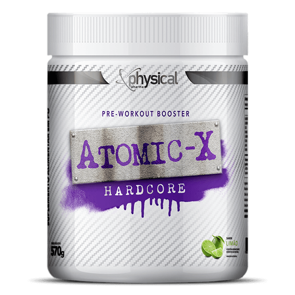 Atomic X Hardcore (570g)  - Physical Pharma Suplementos