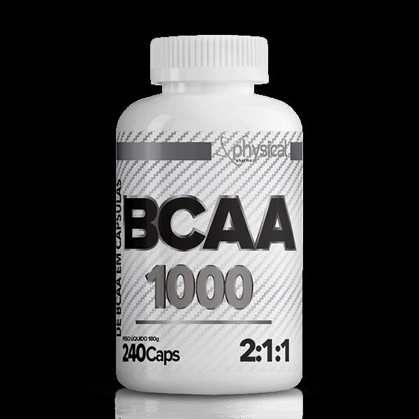 BCAA 1000 - 500mg (240 Cápsulas) - val 06/21