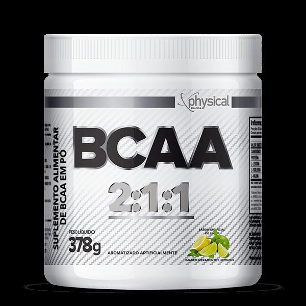 BCAA 2:1:1 (378g)  - Physical Pharma Suplementos