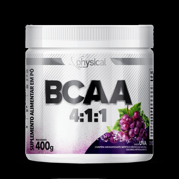 BCAA 4:1:1 (400g) - Physical Pharma  - Physical Pharma Suplementos