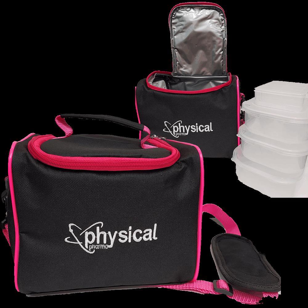 Bolsa Térmica Minizinha (3 Marmitas) - Physical Pharma  - Physical Pharma Suplementos