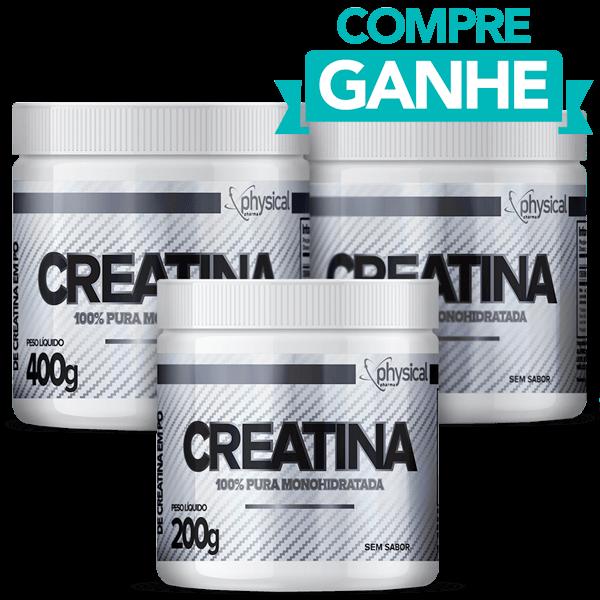 Compre 2 Creatinas (400g) e Ganhe 1 Creatina (200g) - Physical Pharma