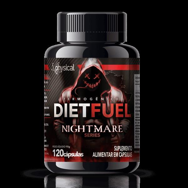 DietFuel Termogênico Nightmare Series (120 Cápsulas) - Physical Pharma