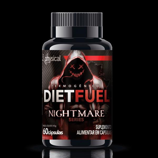 DietFuel Termogênico NightMare Series (60 Cápsulas) - Physical Pharma