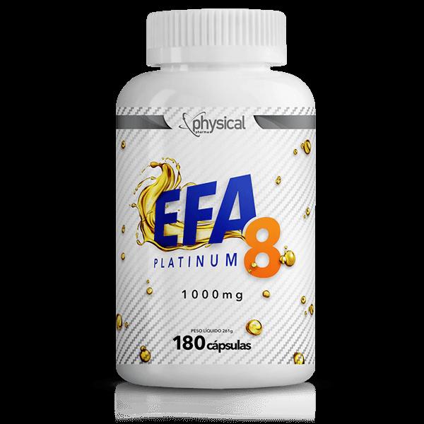 EFA 8 Platinum 1000mg (180 cápsulas)