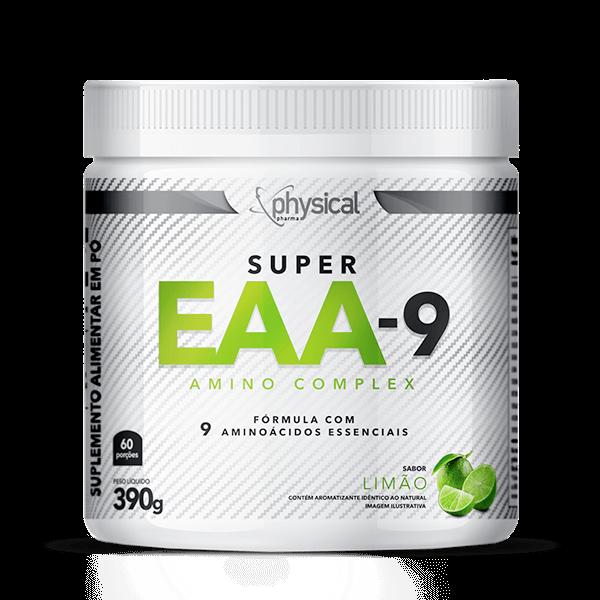 SUPER EAA-9 Sabor Limão (390g)  - Physical Pharma Suplementos