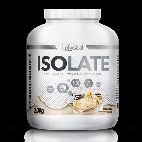 Whey Protein Isolado Isolate (2kg)