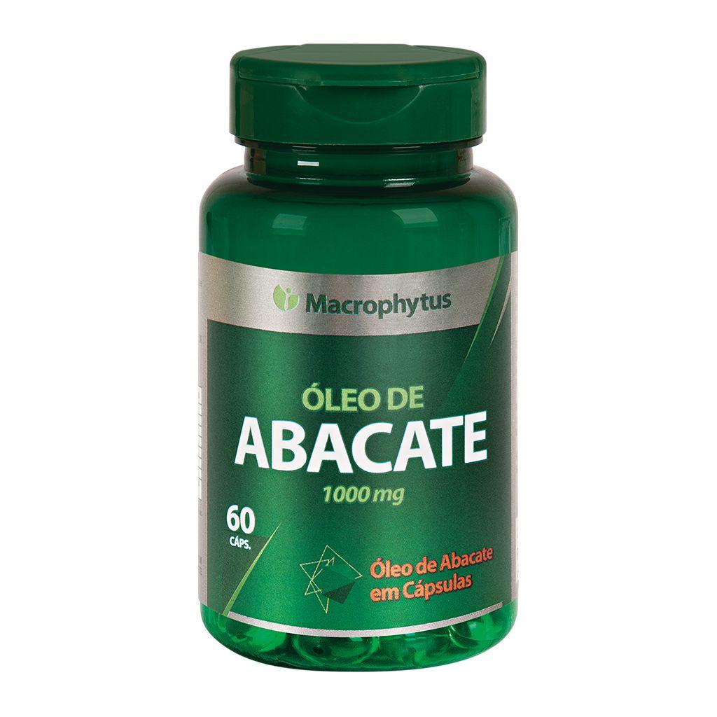 Abacate 1000mg 60 cápsulas