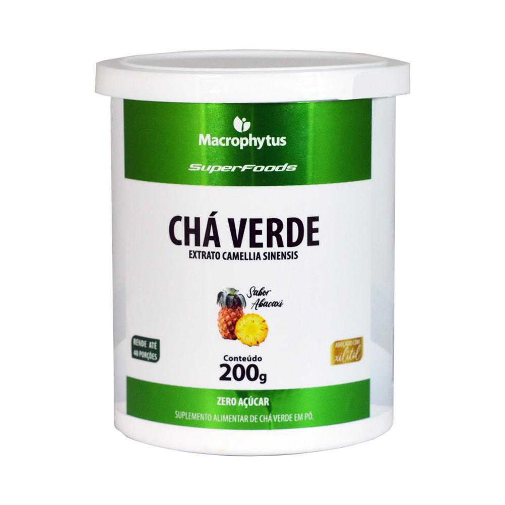 Chá Verde 200g Abacaxi