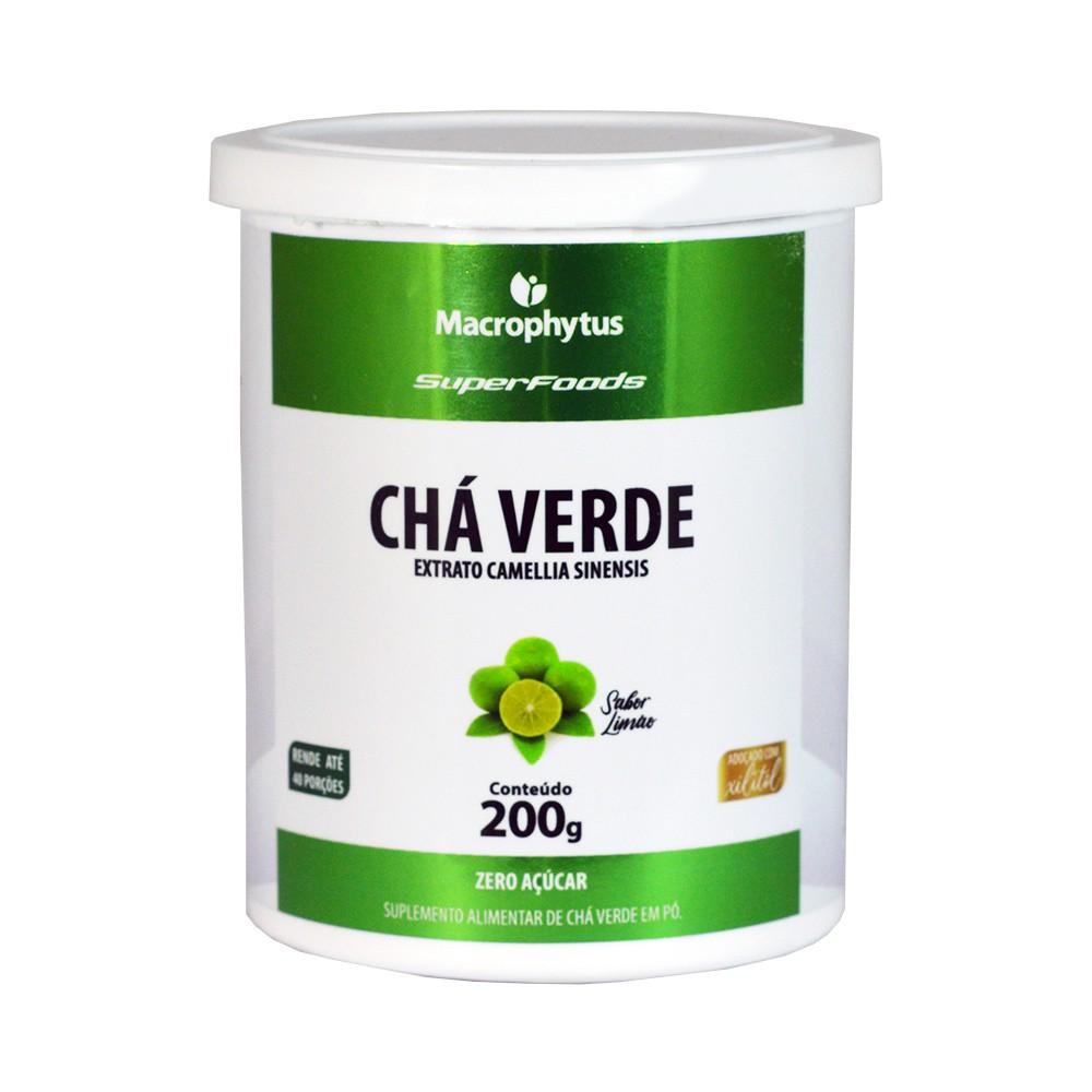 Chá Verde 200g Limão