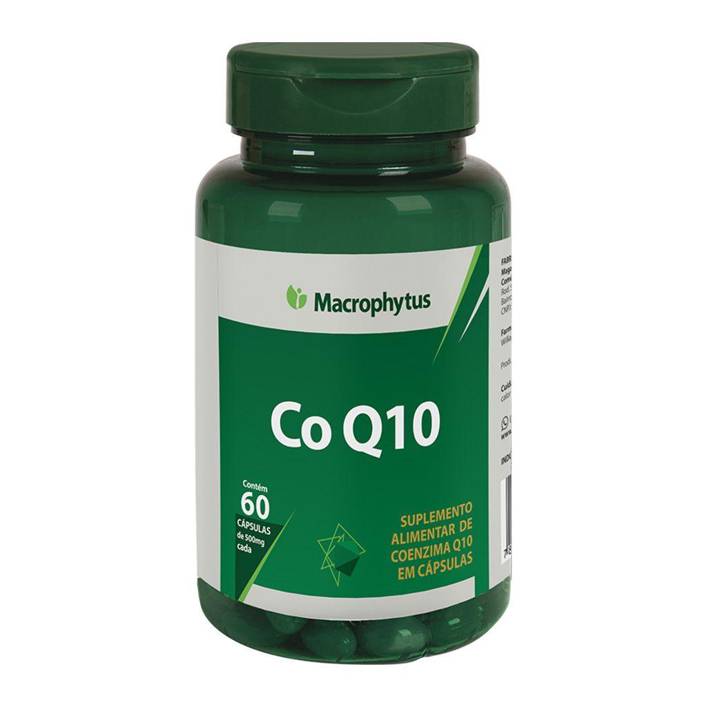Coenzima Q10 500mg 60 cápsulas