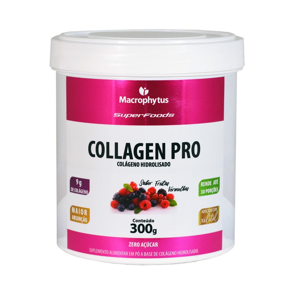 Collagen Pro (Colágeno Hidrolisado) 300g Frutas Vermelhas