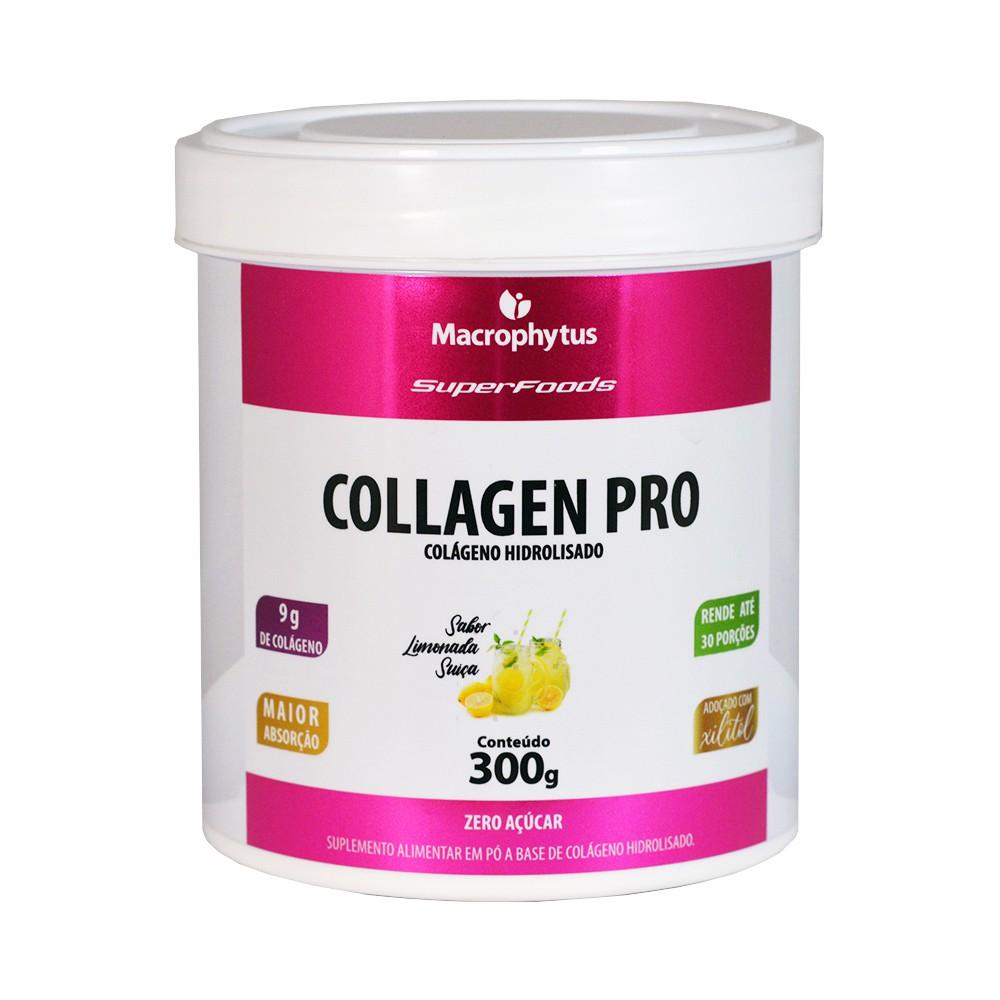 Collagen Pro (Colágeno Hidrolisado) 300g Limonada Suíça