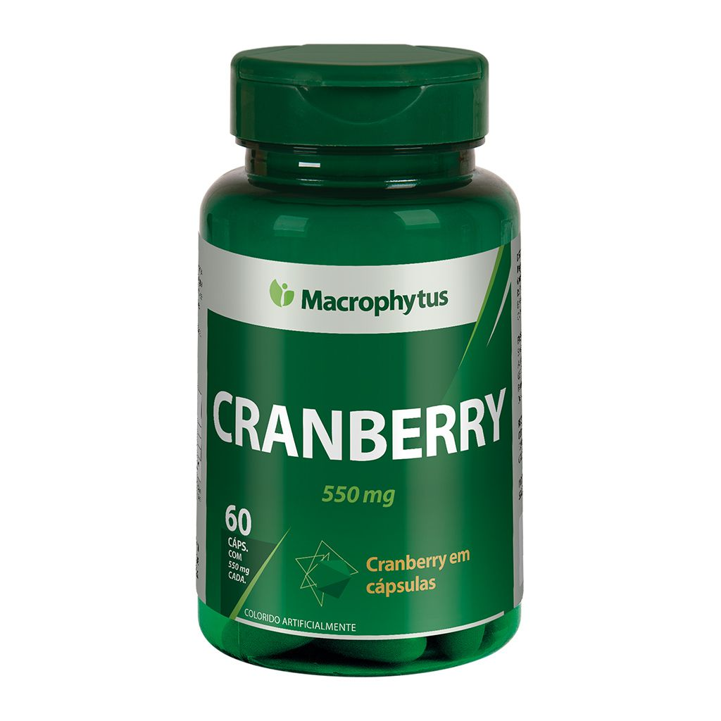 Cranberry 550mg 60 cápsulas