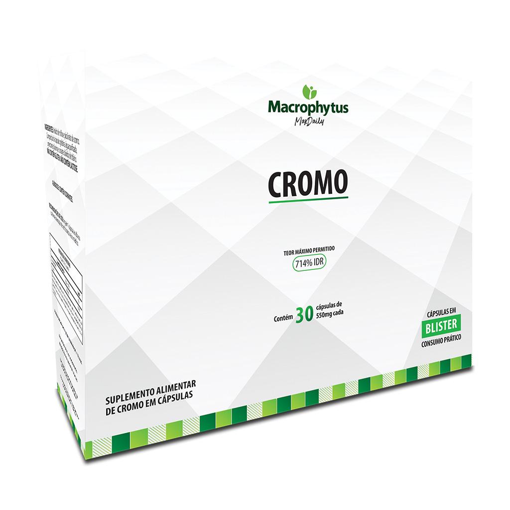 Cromo 550mg 30 cápsulas (Blister)