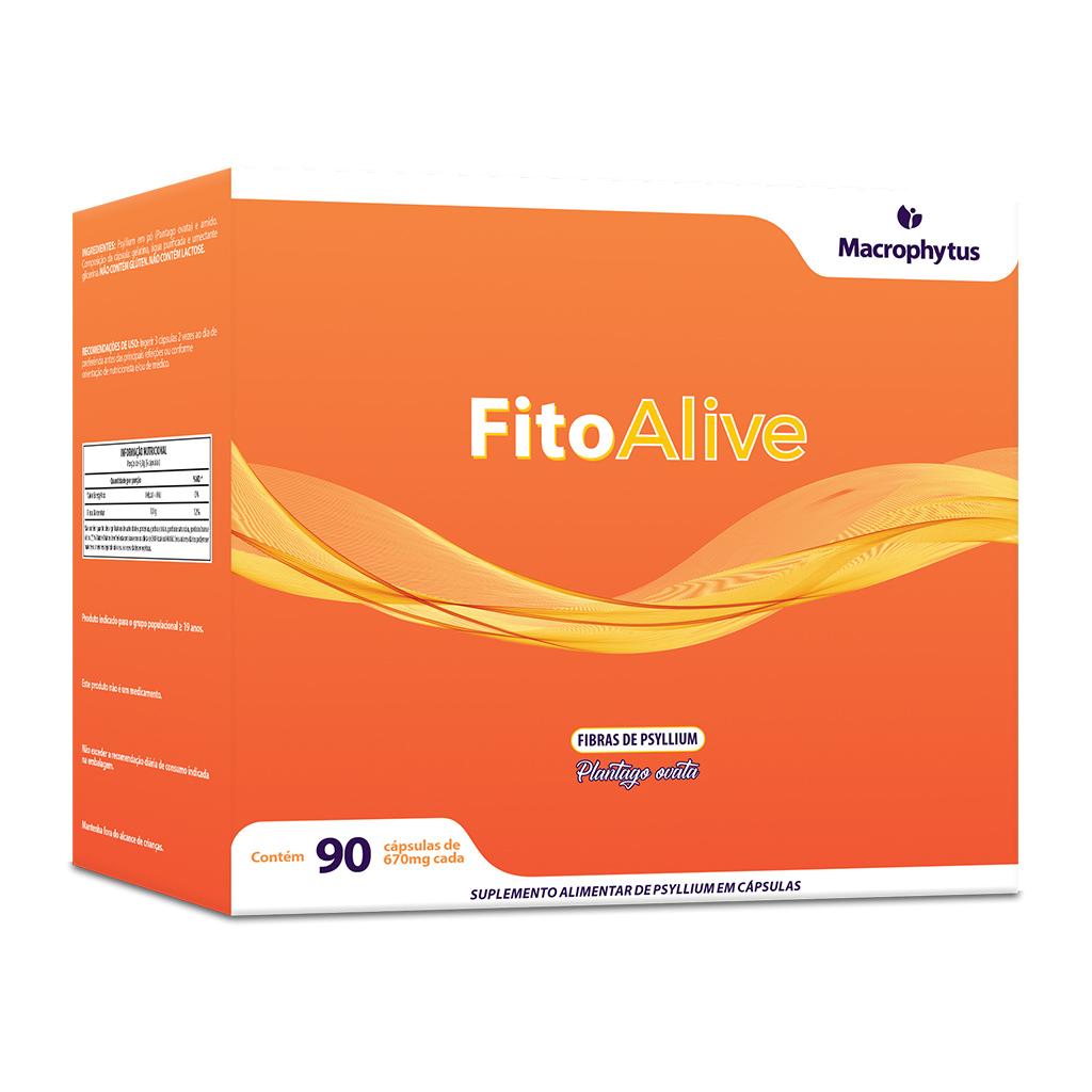 FitoAlive 670mg 90 cápsulas (Psyllium)
