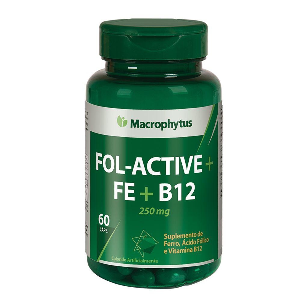 Fol-Active 250mg 60 cápsulas