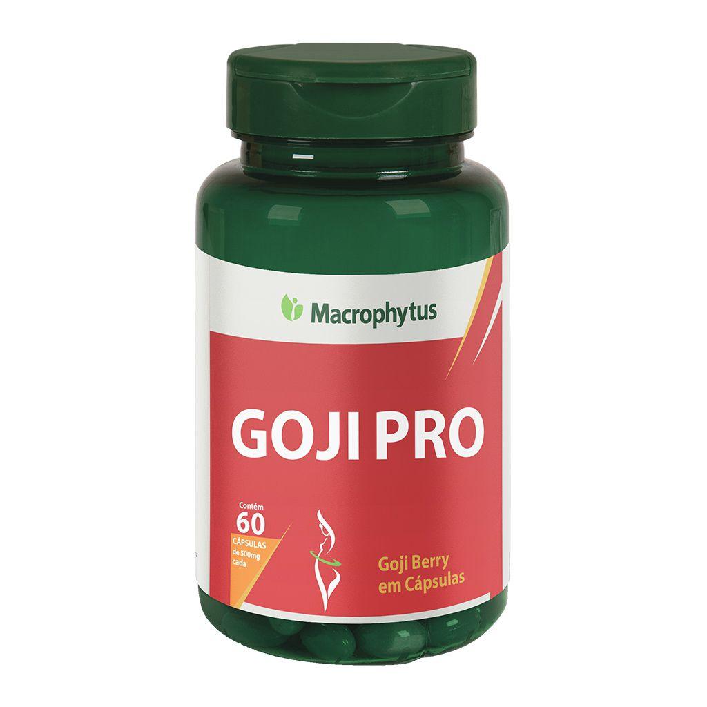 Goji Pro 500mg 60 cápsulas