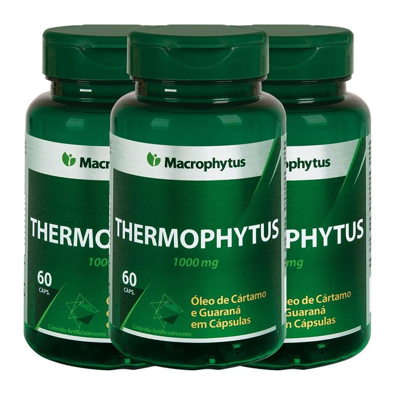 Kit 3 Thermophytus 1000mg 60 cápsulas