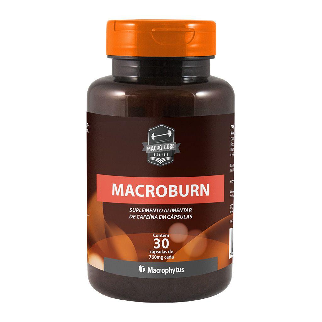 Macro Burn 760mg 30 cápsulas