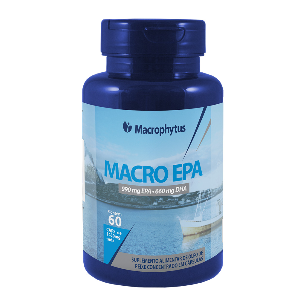 Macro EPA 1450mg 60cáps (Ômega 33/22)