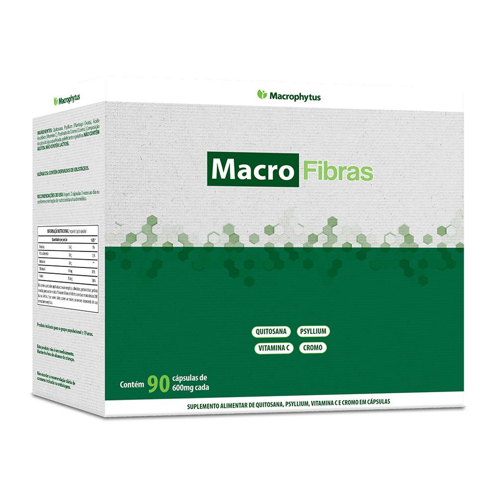 MacroFibras 600mg 90 cápsulas