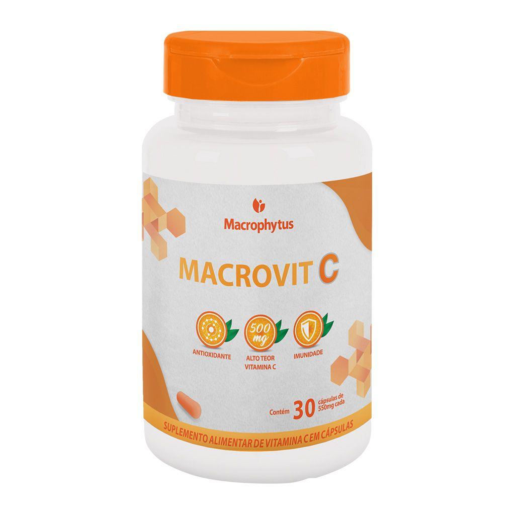 Macrovit C 500mg 30 cápsulas