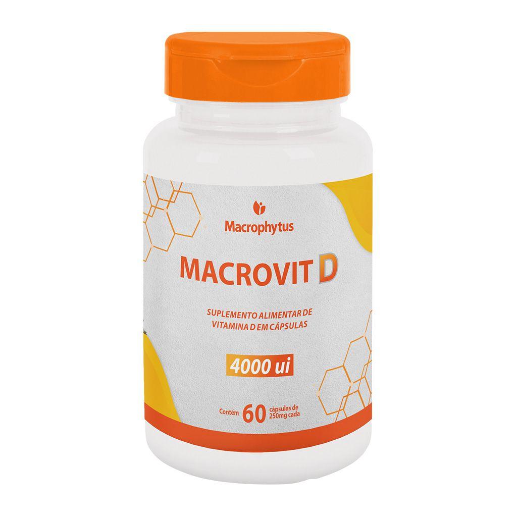 Macrovit D 4.000ui 250mg 60 cápsulas