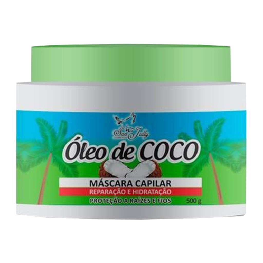 Máscara Capilar Óleo de Coco 500g