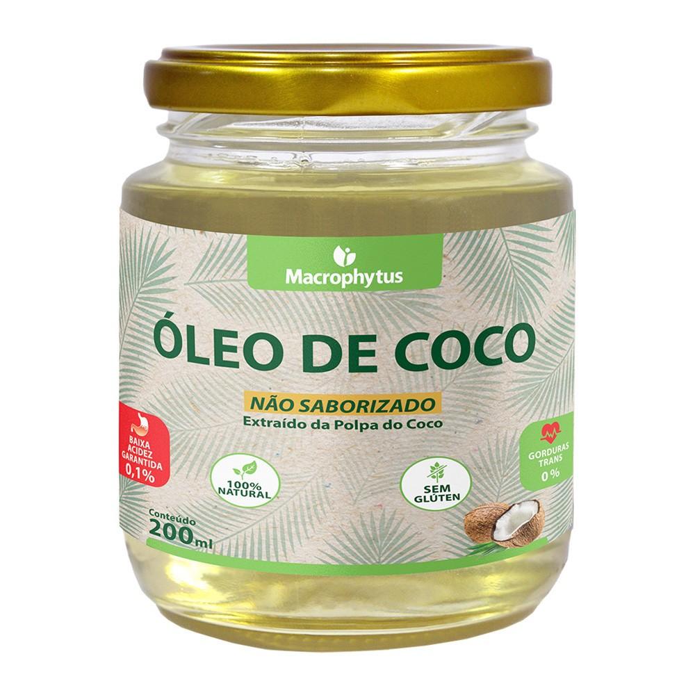 Óleo de Coco Não Saborizado 200ml