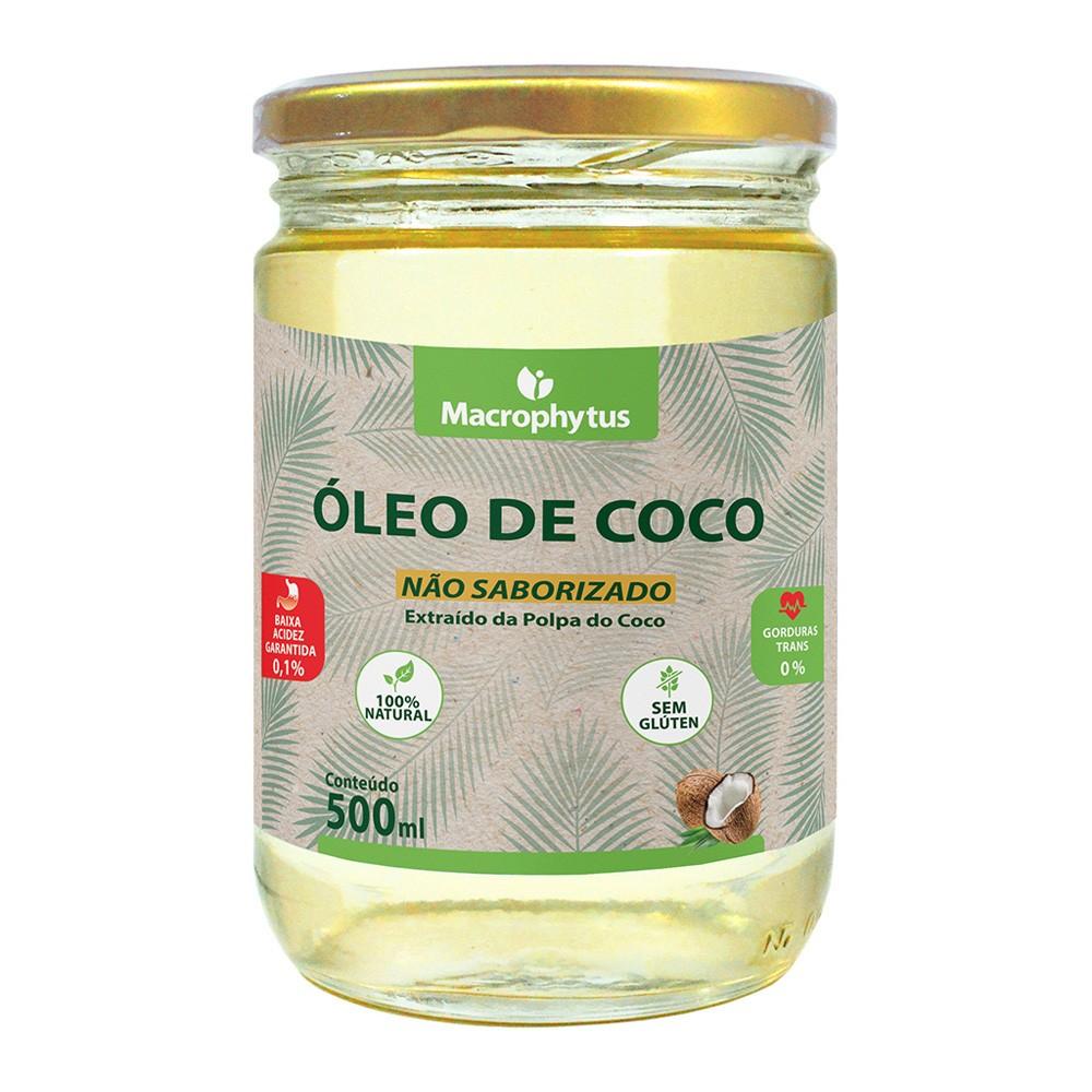 Óleo de Coco Não Saborizado 500ml
