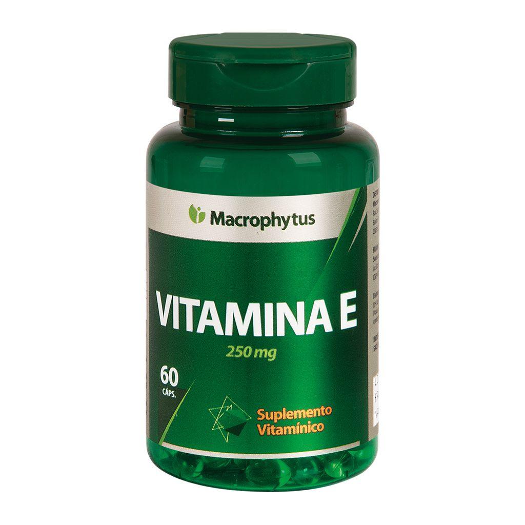 Vitamina E 250mg 60 cápsulas