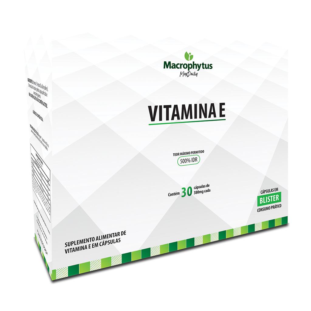 Vitamina E 380mg 30 cápsulas (Blister)