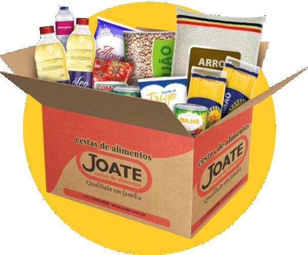 Fundo Social de Jundiaí - Doação Casal  - Joate Cestas de Alimentos