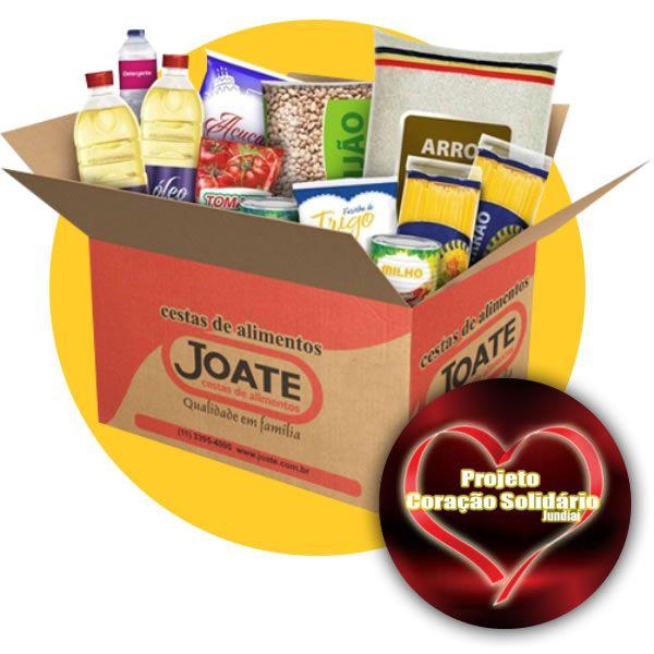 Doação Coração Solidário de Jundiaí  - Joate Cestas de Alimentos