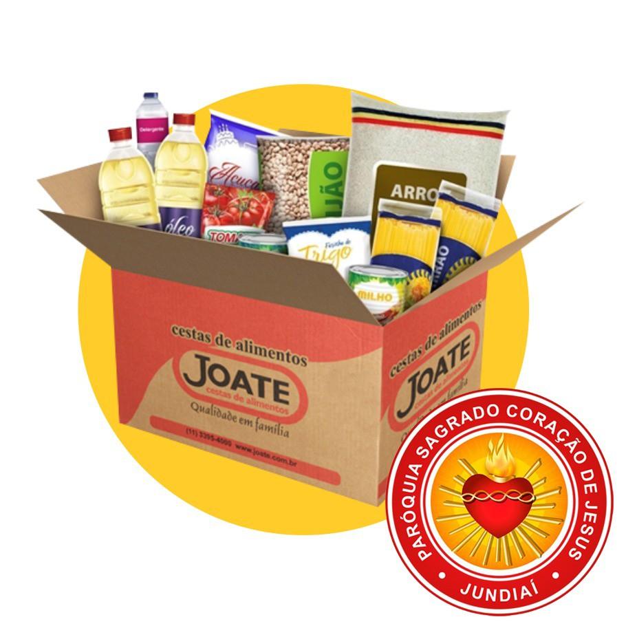 Doação Sagrado Coração de Jesus - Paróquia 4  - Joate Cestas de Alimentos