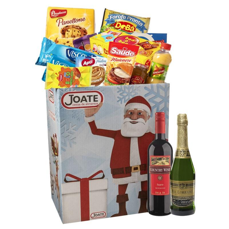 Natal Dourado  - Joate Cestas de Alimentos