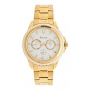 Relógio Bulova Wb22177H Multifunções Dourado Original