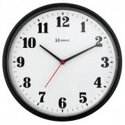 Relógio De Parede 26 Cm Preto Marca Herweg
